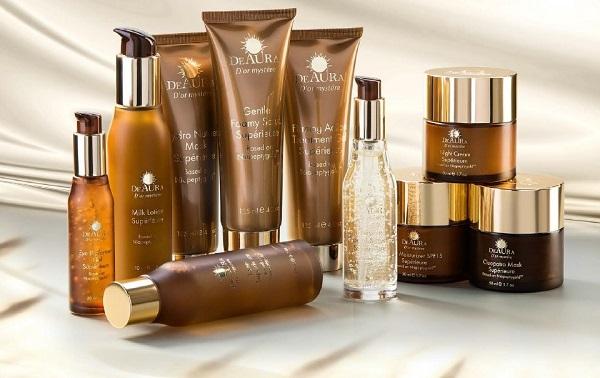 Trọn bộ 10 sản phẩm của Deaura với công dụng trẻ hóa làn da