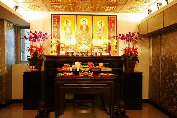 Cách sắp xếp bàn thờ tổ tiên đúng phong thủy