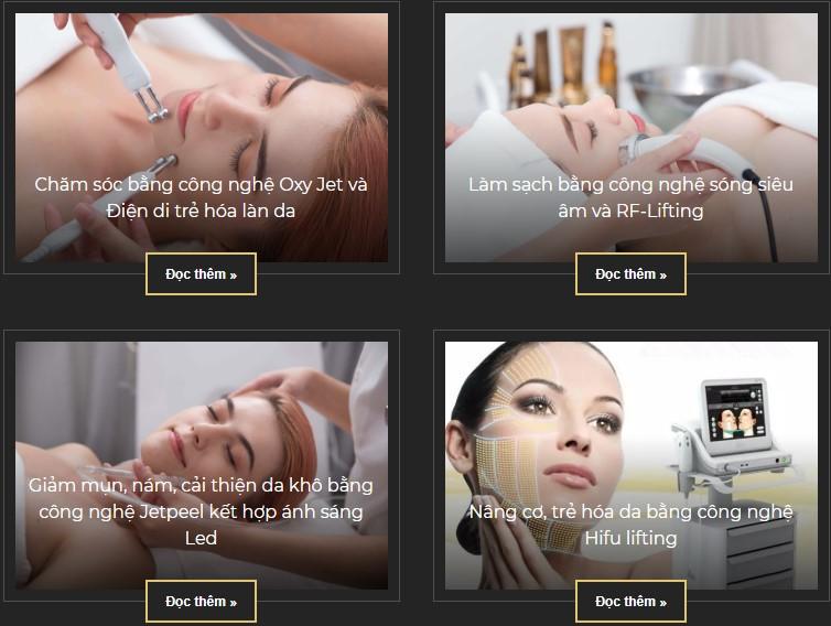 dịch vụ chăm sóc da tại athena spa có tốt không