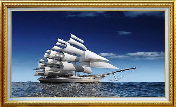 tranh phong thủy cho người mệnh thủy