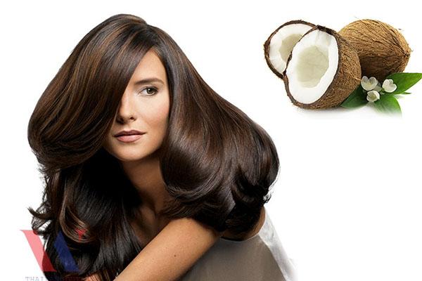 Tại sao dầu dừa giúp tóc mọc nhanh