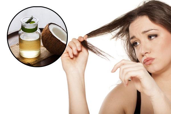 Dầu dừa kích thích mọc tóc và cải thiện tóc hư tổn hiệu quả