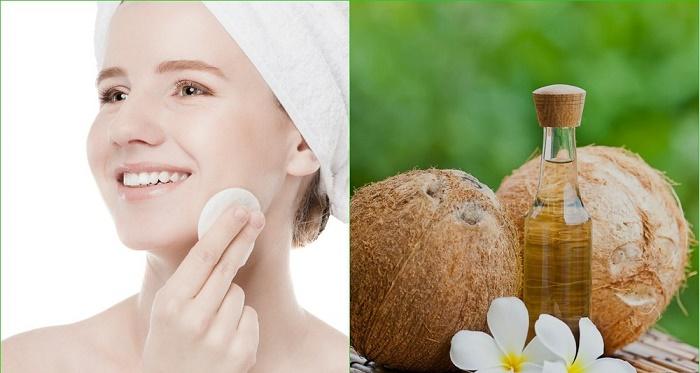 Sử dụng dầu dừa giúp dưỡng da đẹp