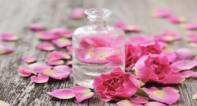 Nước hoa hồng chống viêm nhiễm da.