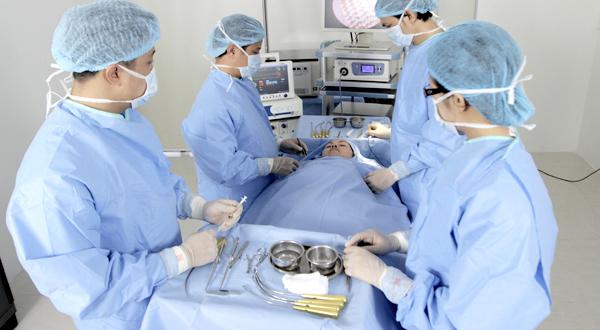 Quy trình thực hiện nâng cơ nội soi.